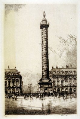 La Place Vendome, Paris