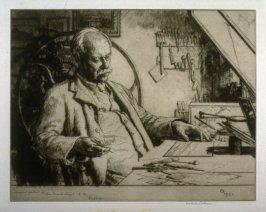 Sir Frank Short, R.A. (President of the Royal Society of Painter & Engravers)