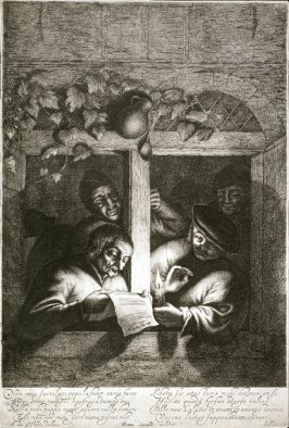 Rhetoricians at a Window (copy in reverse)