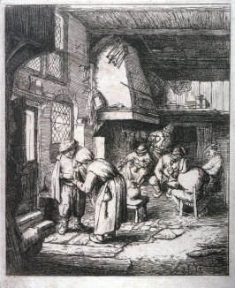 The Peasant Settling His Debt (copy)