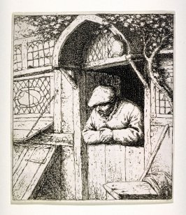 Peasant Leaning on a Doorway