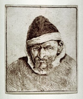 Peasant in a Pointed Fur Cap