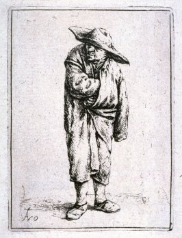 Peasant with Hand in Cloak