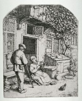 The Woman Winding Wool upon a Reel