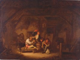 Drunkards in a Tavern