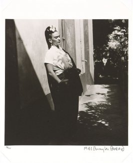 Frida in the Doorway