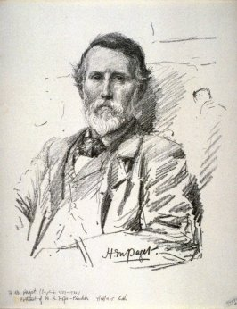 H.R. Hope-Pinker, eighth plate from the portfolio Sketches Made on the Lithography Night 14 April 1905 by Members of the Art Workers Guild, Clifford Inn Hall and Published for the Benefit of the Chest