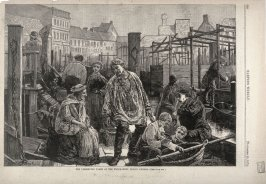 The Preserving Tanks at the Fish-Market, Berlin, Prussia - p.980 from Harper's Weekly (28 November 1874)