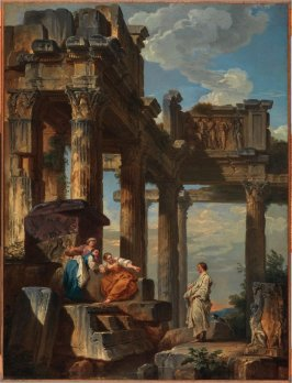 Figures Amongst the Ruins (Ruins with Prophet)