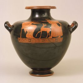 Red-figure hydria (water jar)
