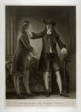 Charles II. and Sir William Temple