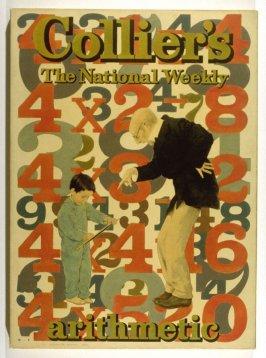 The Arithmetic Lesson, cover design for Collier's Weekly (September 30, 1911)