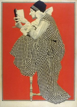 The Idiot. Cover design for Collier's Weekly (September 24, 1910)