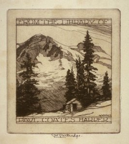 Bookplate: From the Library of Paul Coates Harper