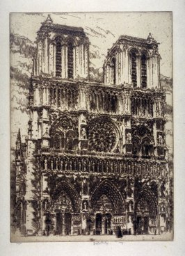 Lace from Paris (Notre Dame)