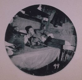 Chinatown Album: Two Men Reclining on a Bed