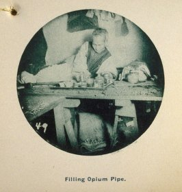Filling Opium Pipe, in the album Chinatown, San Francisco
