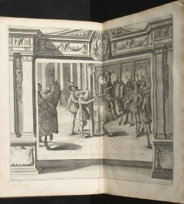 Illustration 19 in the book l'Instruction du Roy en l'exercice de monter à cheval (Paris: Michel Nivelle, 1625)