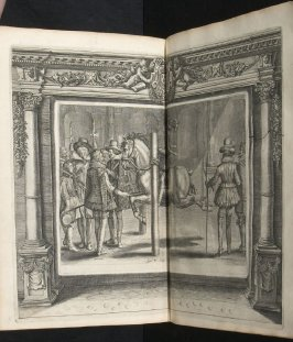 Illustration 39 in the book l'Instruction du Roy en l'exercice de monter à cheval (Paris: Michel Nivelle, 1625)
