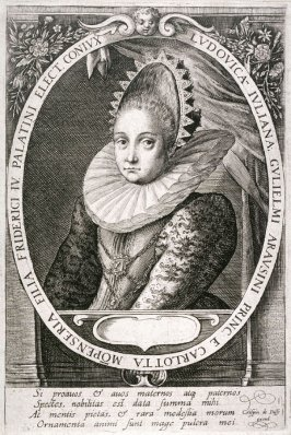 Louise Julienne, Wife to Frederick IV, Elector Palatinate of the Rhine
