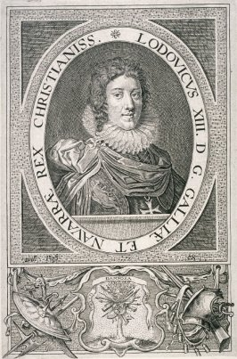 Portrait of Louis XIII of France