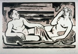 Reclining Couple