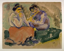 Flute Playing in the Country