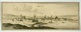 View of Melun, France