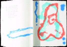 """Untitled (with poem """"Springflut""""), Illustration 3 in the book Wallenstein"""