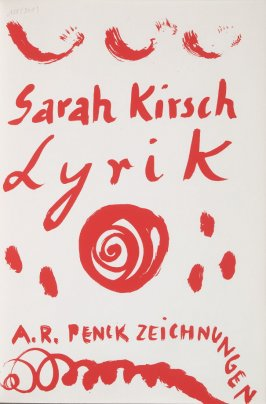 Title page, page 1 in the book Lyrick by Sarah Kirsch (Berlin: Edition Malerbücher, 1988)