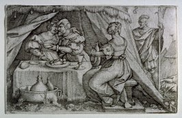 Old Testament: Judith in the tent of Holofernes