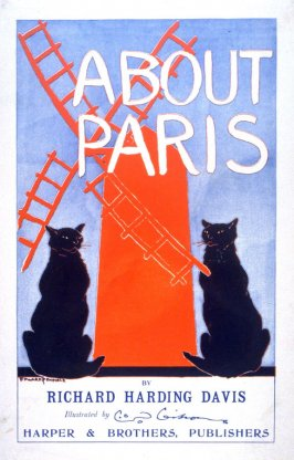 Poster for About Paris (1895) by Richard Harding Davis