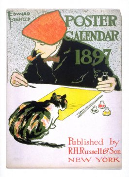 (Self-portrait), title page from Poster Calendar 1897