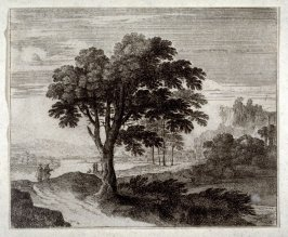 Landscape with a road