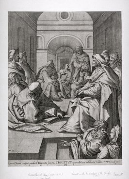 Christ with the doctors in the Temple
