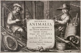 Frontispiece, no. 1 from Diversa Animalia Quadrupedia