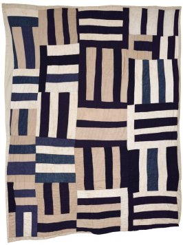 "Roman Stripes (Variation, also called ""Crazy Quilt"")"