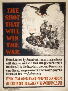 The shot that will win the the War - World War I Poster