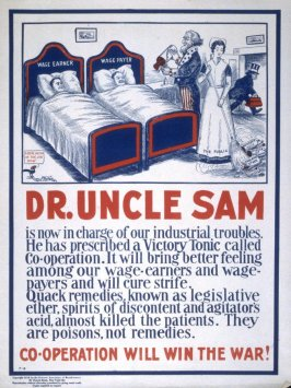 Dr. Uncle Sam - World War I poster
