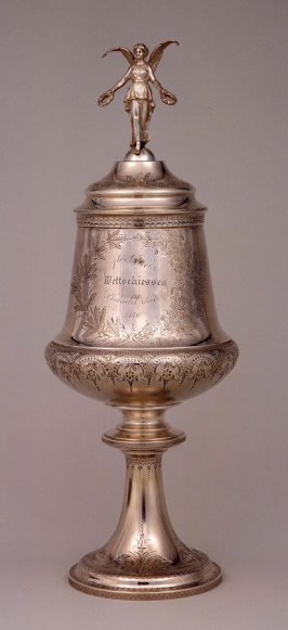 Trophy cup with cover