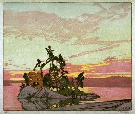 Sunset, Lake of the Woods