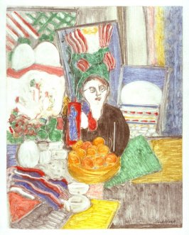 Self-Portrait at the Table
