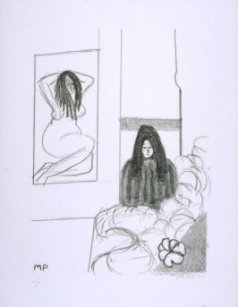 Untitled, one of thirteen from the series, Women in the Studio