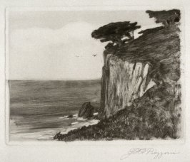 Untitled (Seacliff and Trees)