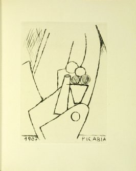 Untitled illustration by Francis Picabia in the book Du cubisme (Paris: Compagnie Française des Arts Graphiques, 31 July 1947).