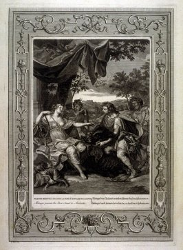 Meleager presents the Boar's head to Atalanta