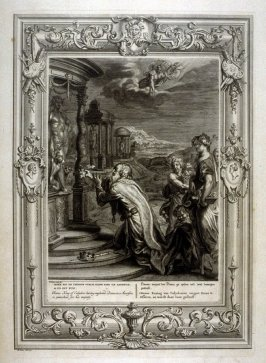 Oeneus King of Calydon, having neglected Diana in a Sacrifice is punished for his impiety