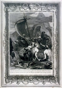 Ulysses and his Companions avoid the charms of the Sirens