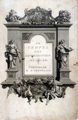 Title page - De Tempel der Zang-Godinnen - The Temple of the Muses