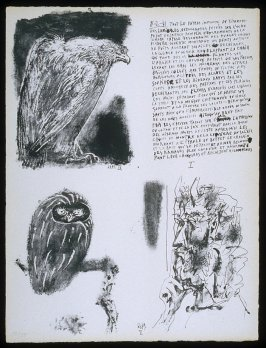 Poèmes et lithographies by Pablo Picasso (Paris: Galerie Louise Leiris, 1954).